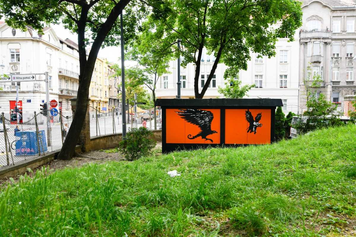 Mural na TS u Draškovićevoj